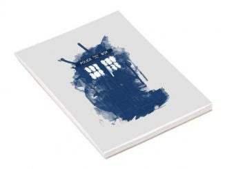 Doctor Who Modern Art Tardis A5 Notepad