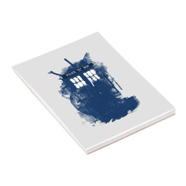 Doctor Who Modern Art Tardis A5 Notepad