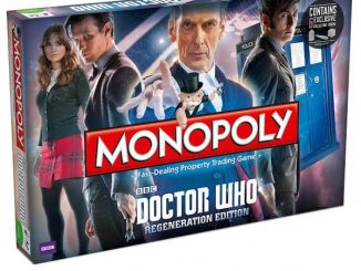 Doctor Who Monopoly 2014