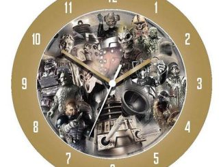 Doctor Who Monsters 3-D Effect Wall Clock