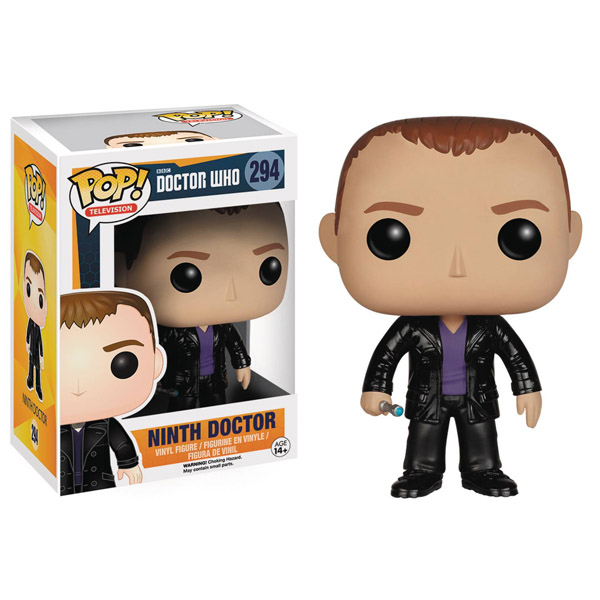 Doctor Who Ninth Doctor Pop Vinyl Figure