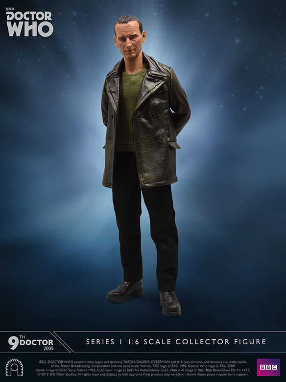 Doctor Who Ninth Doctor Sixth-Scale Figure small