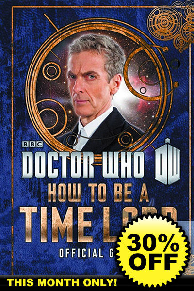 Doctor who official guide how to be a time lord hc book for How to become a fishing guide