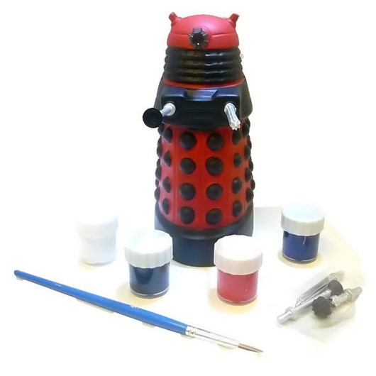 Doctor Who Paint Your Own Dalek Ceramic Bank