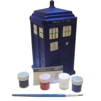 Doctor Who Paint Your Own TARDIS Ceramic Bank
