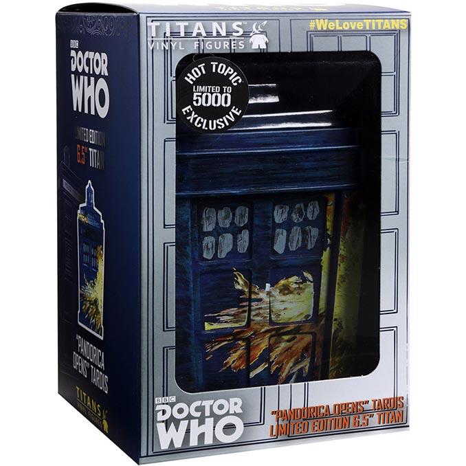 Doctor Who Pandorica Opens TARDIS Titans Figure
