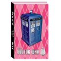 Doctor Who Pink TARDIS Journal