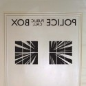 Doctor Who Police Box Interior Door Decal