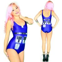 Doctor Who Police Box Swimsuit