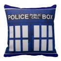 Doctor Who Police Box TARDIS Pillow