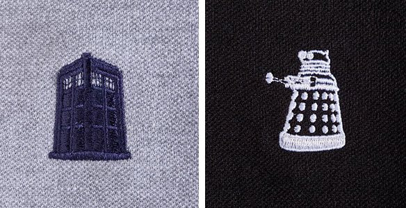 Doctor Who Polo Dress Shirts