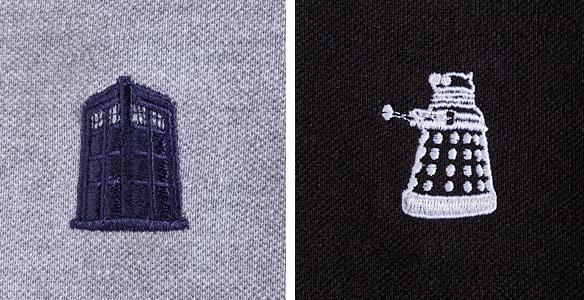 Doctor Who Polo Dress Shirts