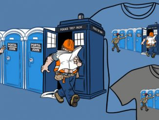 Doctor Who Porta John Smith T-Shirt