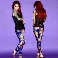 Doctor Who Princesses Leggings