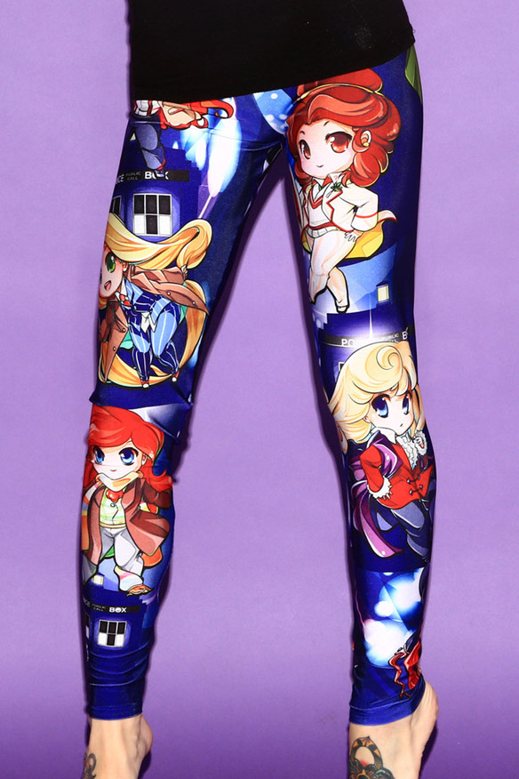 Doctor Who Princesses Leggings Details