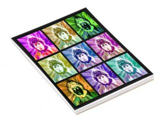 Doctor Who Psychedelic 4th Doctor A5 Notepad