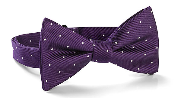 Doctor Who Purple Bow Tie