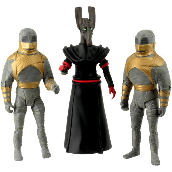 Doctor Who Pyramids Of Mars Action Figure Set