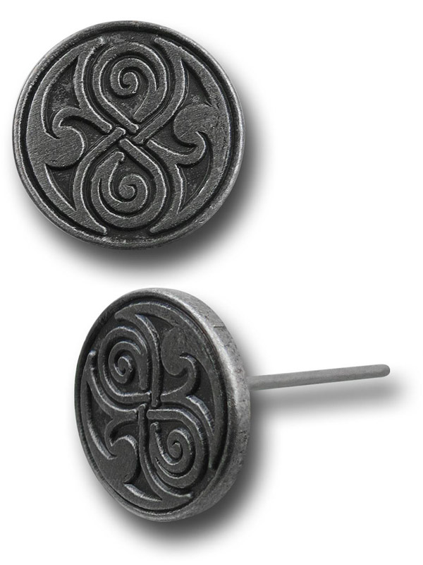 Doctor Who Rassilon Earrings
