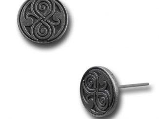 Doctor Who Rassilon Stud Earrings