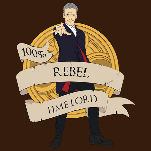 Doctor Who Rebel Time Lord Shirt