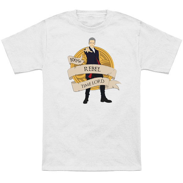 Doctor Who Rebel Time Lord TShirt