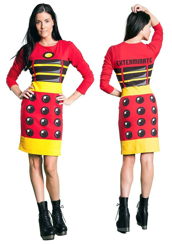 Doctor Who Red Dalek Dress