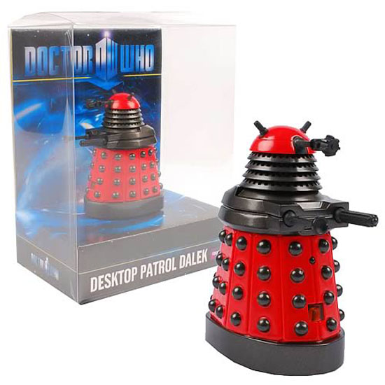 Doctor Who Red Desktop Patrol Dalek