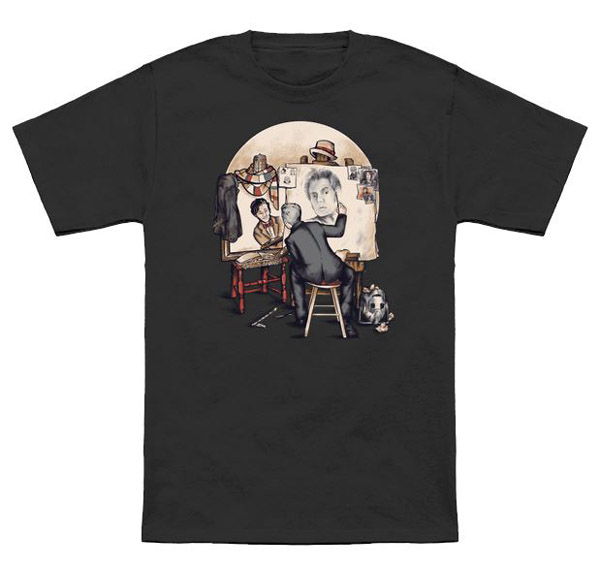 Doctor Who Regenerated Rockwell T-Shirt