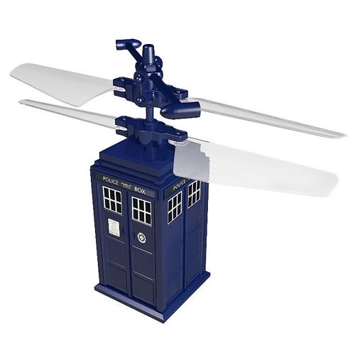 Doctor Who Remote Control Flying TARDIS