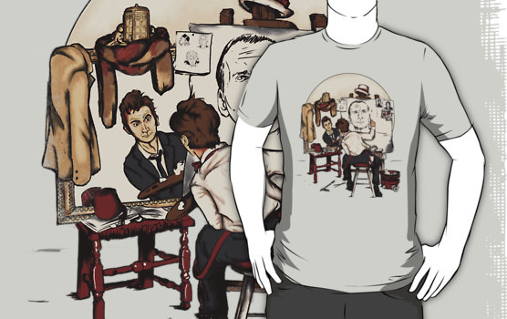 Doctor Who Rockwell Shirt