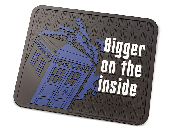 Doctor Who Rubber Mats