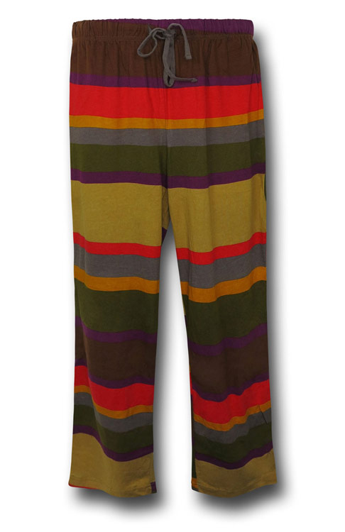 Doctor Who Scarf Print Lounge Pants