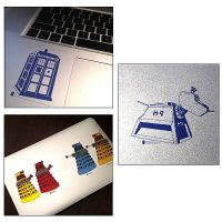 Doctor Who Set 1 Reusable Sticker 6-Pack