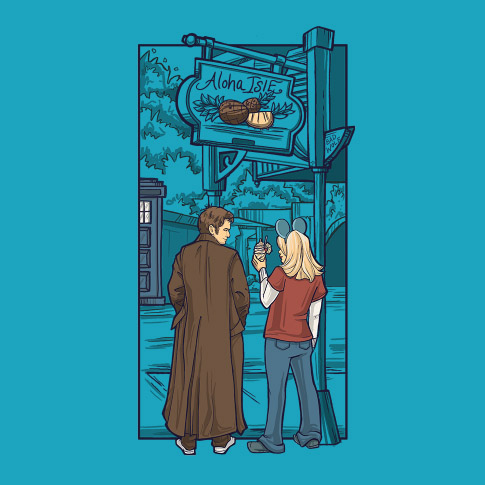 Doctor Who Side Trip Shirt