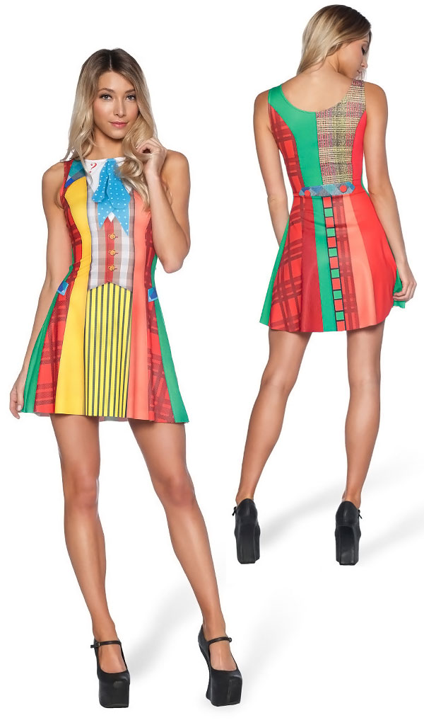 Doctor Who Sixth Doctor Womens Play Dress
