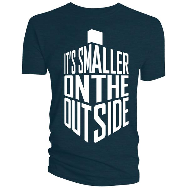 Doctor Who Smaller On The Outside T-Shirt