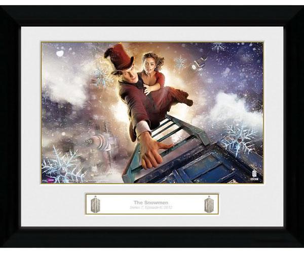 Doctor Who Snowmen Print