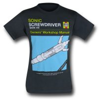 Doctor Who Sonic Screwdriver Shirt