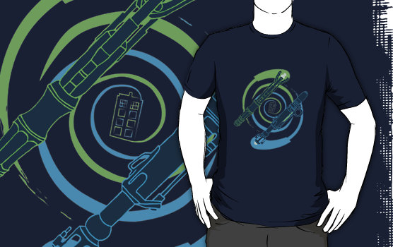 Doctor Who Sonic Vortex T-Shirt