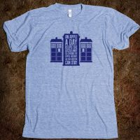 Doctor Who Space Poetry TShirt