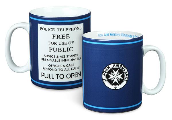 Doctor Who St John Ambulance 20oz Mug