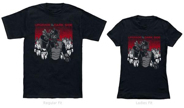 Doctor Who Star Wars Darthmen Shirt