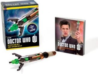 Doctor Who Sticker Kit Eleventh Doctors Sonic Screwdriver
