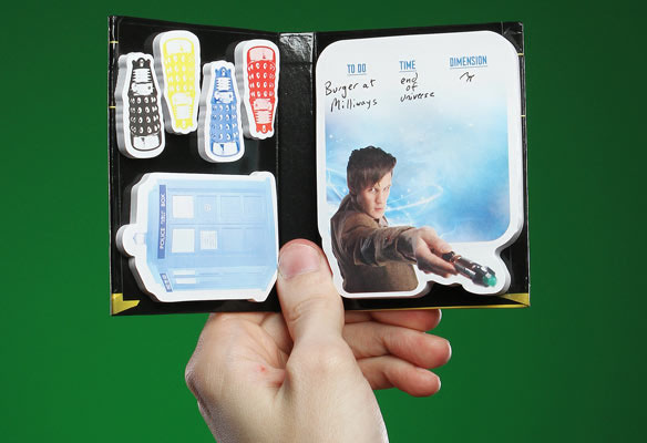 Doctor Who Sticky Notes Book