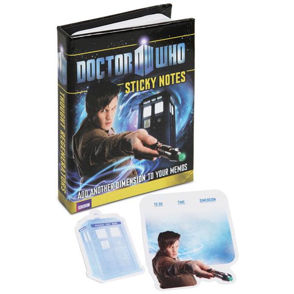 Doctor Who Sticky Notes
