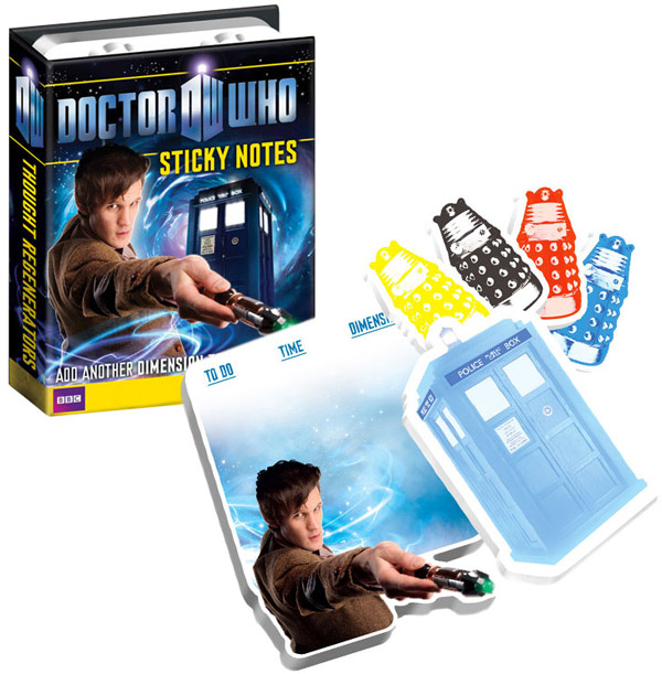 Doctor Who Sticky Notes
