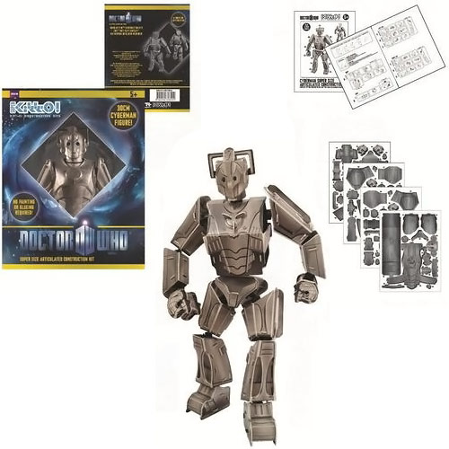Doctor Who Super KittO Cyberman Kit