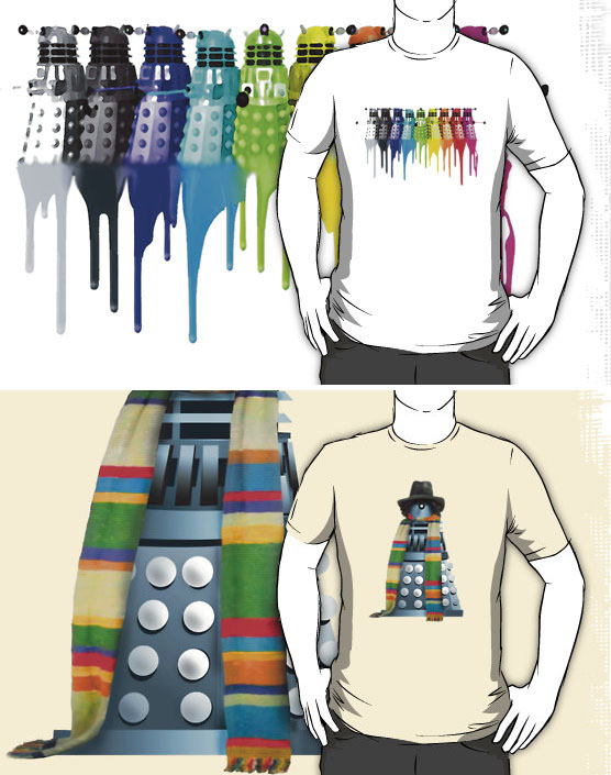 Doctor Who T-Shirts from RedBubble