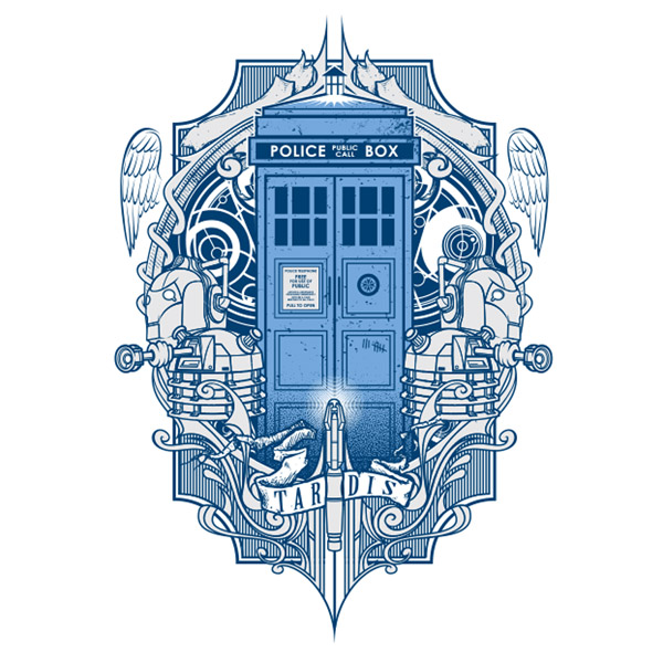 Doctor Who T4RD1S T-Shirt